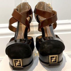 Fendi Platform Pumps Mint Condition!
